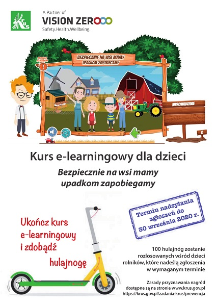 Plakat kursu e learning 2020 600